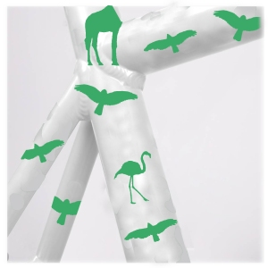 StickerReflectiva_ANIMALES_Verde_blanco copy