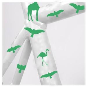 StickerReflectiva_ANIMALES_Verde_blanco copy